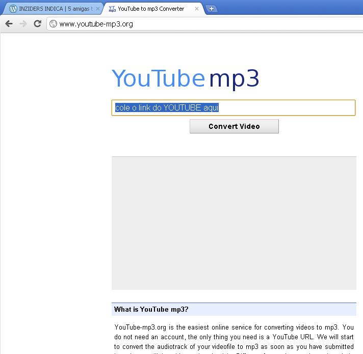 baixar músicas do youtube on line